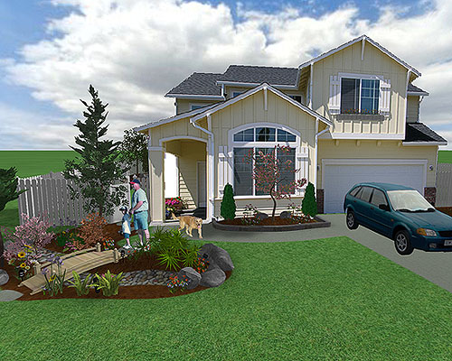 Garden Design 3D - Aralsa.Com